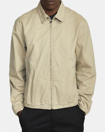 2 PISTON JACKET Beige M7093RPI RVCA