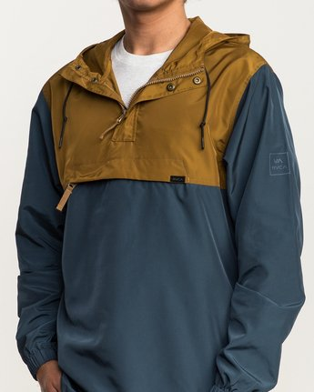 4 Packaway Anorak II Jacket Brown M710QRPA RVCA