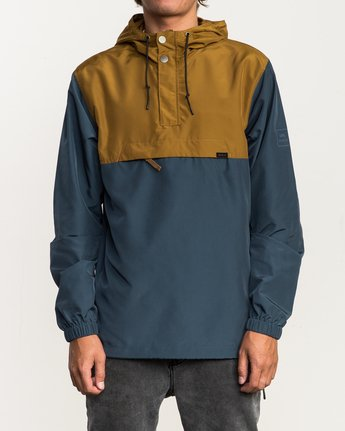 1 Packaway Anorak II Jacket Brown M710QRPA RVCA