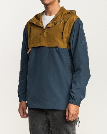 3 Packaway Anorak II Jacket Brown M710QRPA RVCA