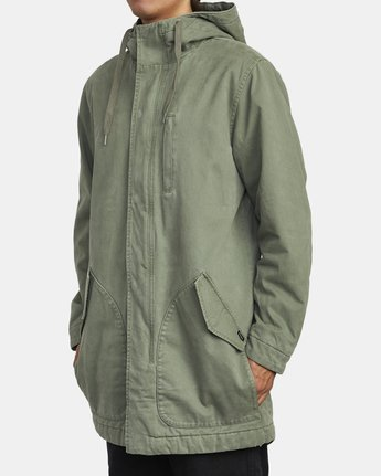 2 STANDARD ISSUE PARKA 2 JACKET Multicolor M7113RSI RVCA