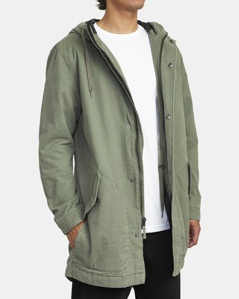 3 STANDARD ISSUE PARKA 2 JACKET Multicolor M7113RSI RVCA