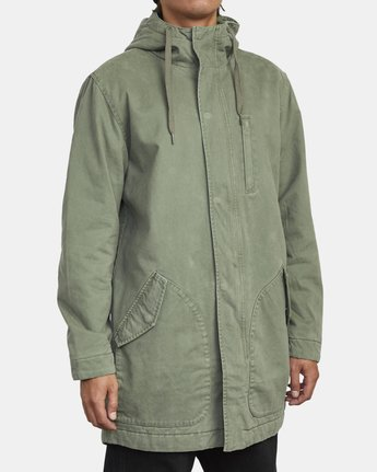 4 STANDARD ISSUE PARKA 2 JACKET Multicolor M7113RSI RVCA