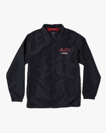 1 Berni Coaches Jacket Black M721VRBE RVCA