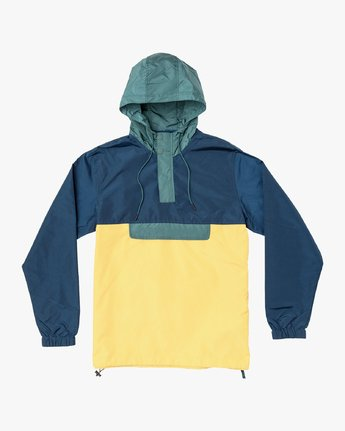0 Killer Anorak Jacket Grey M722VRKI RVCA