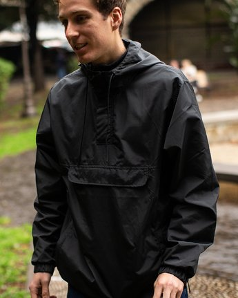 1 Killer Anorak Jacket Orange M722VRKI RVCA