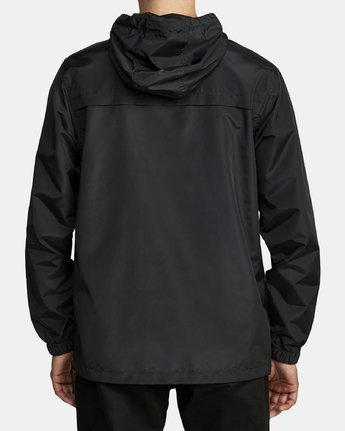 4 Killer Anorak Jacket Black M722VRKI RVCA