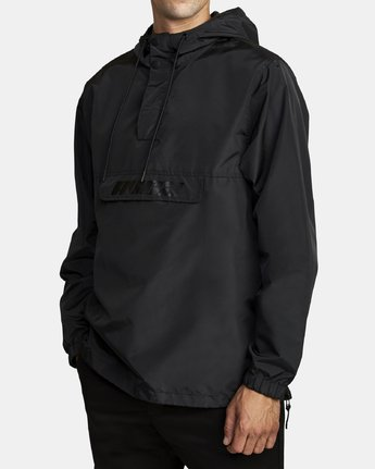 3 Killer Anorak Jacket Black M722VRKI RVCA