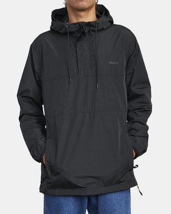 0 KRAIL ANORAK JACKET Orange M7263RKR RVCA
