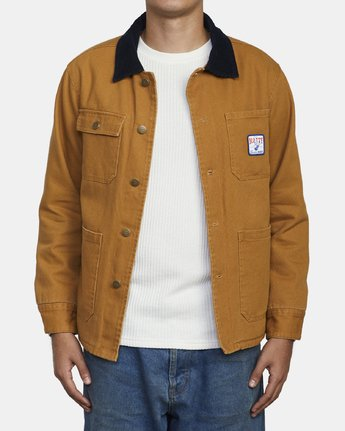 2 MATTY'S JACKET Brown M732WRMJ RVCA