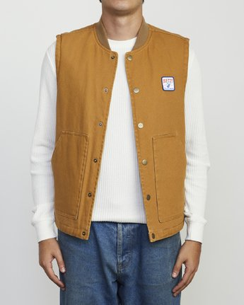 0 MATTY'S VEST Brown M733WRMV RVCA