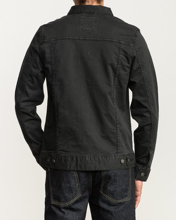 4 Daggers Denim Jacket  M780NRDJ RVCA