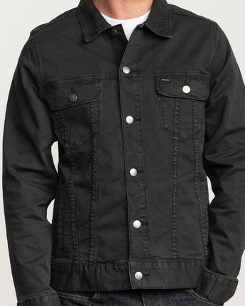 5 Daggers Denim Jacket  M780NRDJ RVCA