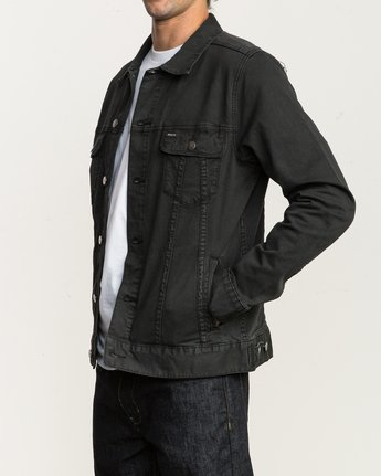 3 Daggers Denim Jacket Black M780NRDJ RVCA