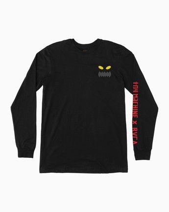 0 Toy Machine Long Sleeve T-Shirt  M800M01T RVCA