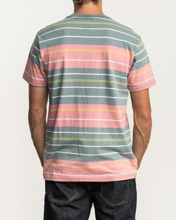 3 Rusholme Striped T-Shirt  M903SRRS RVCA