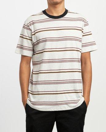1 Avila Striped Knit T-Shirt  M903TRAS RVCA