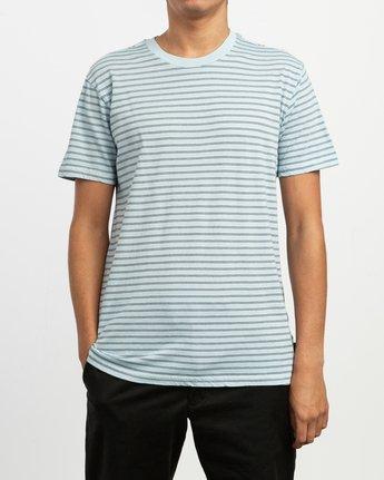 1 Automatic Stripe Knit Shirt Blue M905TRCS RVCA