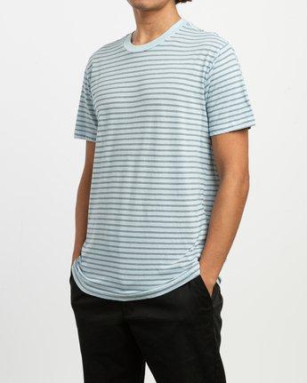 2 Automatic Stripe Knit Shirt Blue M905TRCS RVCA