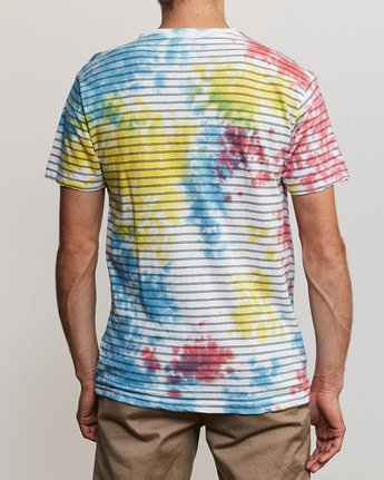 3 Automatic Stripe Knit Shirt Multicolor M905TRCS RVCA