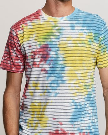 4 Automatic Stripe Knit Shirt Multicolor M905TRCS RVCA