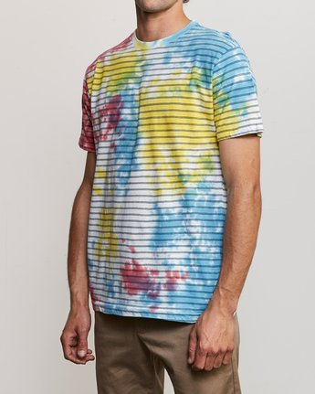 2 Automatic Stripe Knit Shirt Multicolor M905TRCS RVCA