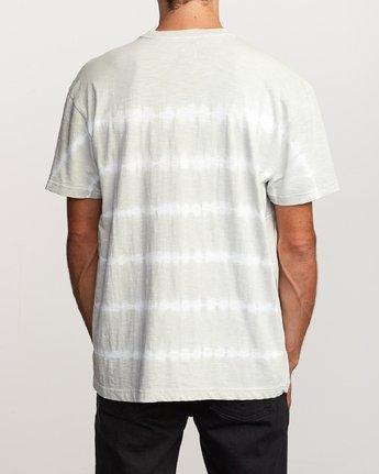 3 Rail Stripe Knit T-Shirt Silver M905VRRS RVCA