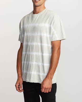 2 Rail Stripe Knit T-Shirt Silver M905VRRS RVCA
