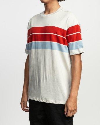2 Payno Knit T-Shirt Silver M906TRPY RVCA