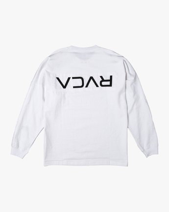 1 PATCH RVCA LS TEE White M906VRPR RVCA