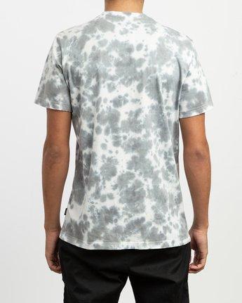 3 Sage Vaughn Tie-Dye T-Shirt White M907TRVS RVCA