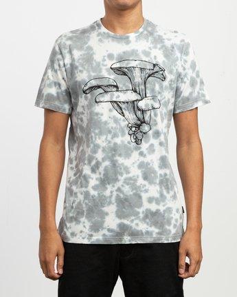 1 Sage Vaughn Tie-Dye T-Shirt White M907TRVS RVCA