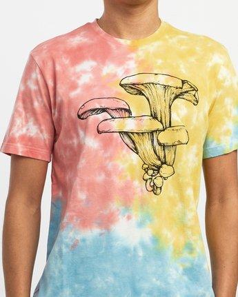 4 Sage Vaughn Tie-Dye T-Shirt Multicolor M907TRVS RVCA