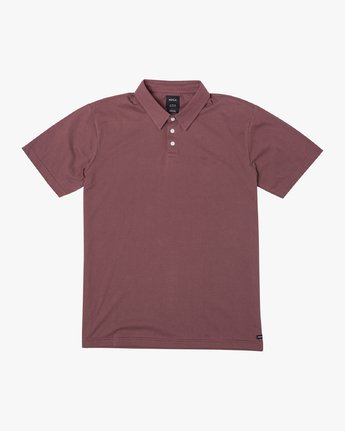1 SURE THING III POLO SHIRT Red M9101RST RVCA