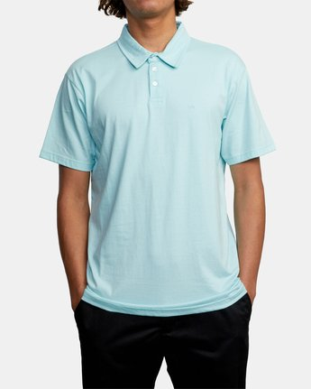 1 SURE THING III POLO SHIRT White M9101RST RVCA