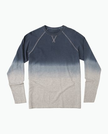 0 Undertone Raglan Knit Shirt Grey M911QRUR RVCA