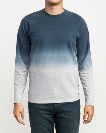 1 Undertone Raglan Knit Shirt Grey M911QRUR RVCA