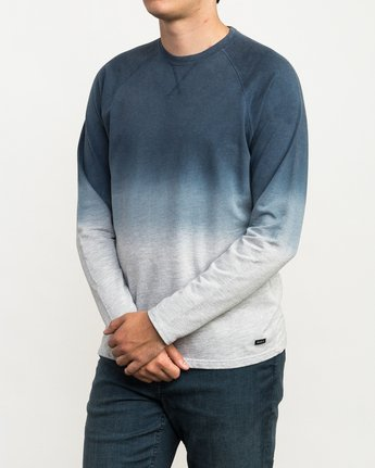 2 Undertone Raglan Knit Shirt Grey M911QRUR RVCA