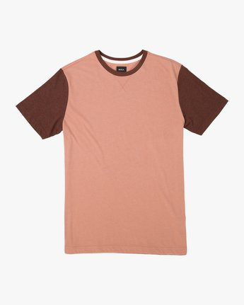 0 Pick Up II Knit T-Shirt Brown M913QRPU RVCA