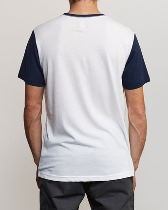 3 Pick Up Knit Shirt White M913QRPU RVCA
