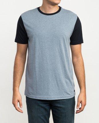 1 Pick Up II Knit T-Shirt Grey M913QRPU RVCA