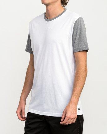 2 Pick Up II Knit T-Shirt White M913QRPU RVCA