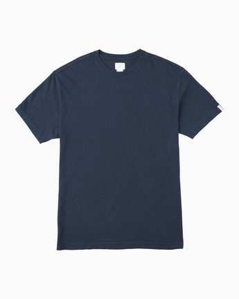 0 Korbin Neutral T-Shirt Blue M916QRRO RVCA