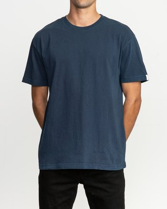 1 Korbin Neutral T-Shirt Blue M916QRRO RVCA