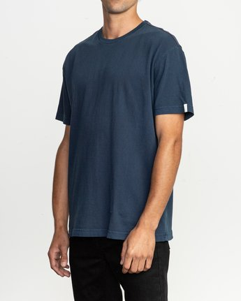2 Korbin Neutral T-Shirt Blue M916QRRO RVCA