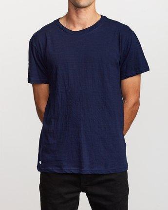 1 Hi-Grade Pigment T-Shirt Blue M949VRTU RVCA