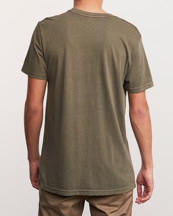 3 Aloha Camo PTC Pocket T-Shirt Green M951URAC RVCA