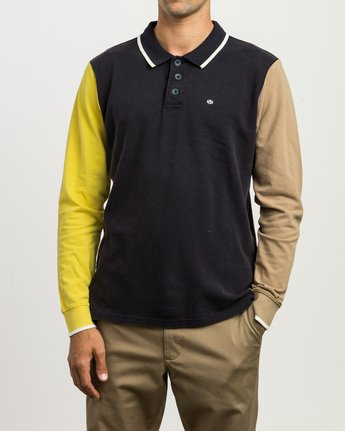 1 Andrew Reynolds Compilation Polo Multicolor M955SRCP RVCA