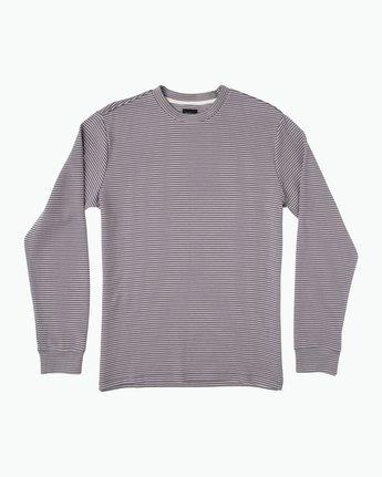 0 Manc Striped Long Sleeve Shirt Pink M957SRMS RVCA