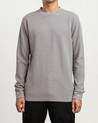1 Manc Striped Long Sleeve Shirt Pink M957SRMS RVCA